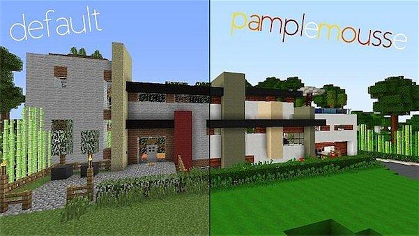 Текстур пак Pamplemousse для Minecraft 1.5.1