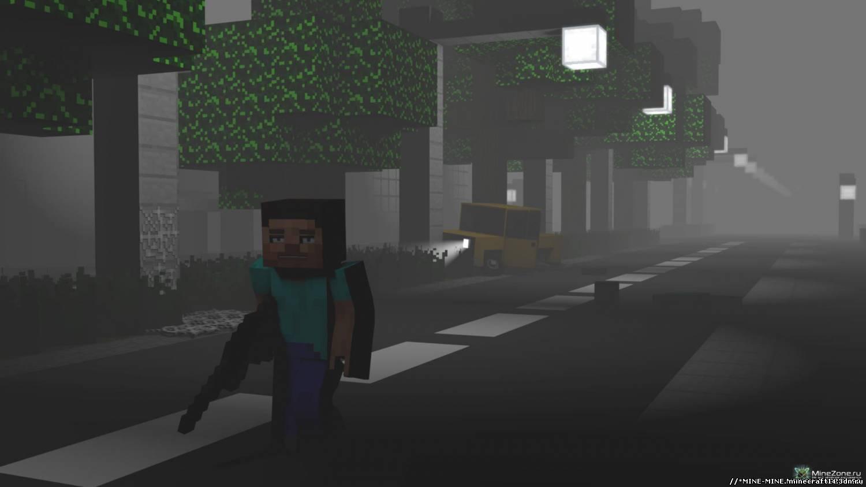 Карта zombie apocalypse для minecraft 1.5.2, 1.5.1