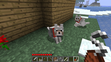 Мод Sophisticated Wolves для minecraft 1.5.2, 1.5.1