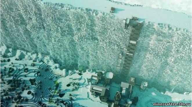 Карта Wintertide для Minecraft 1.5.2, 1.5.1